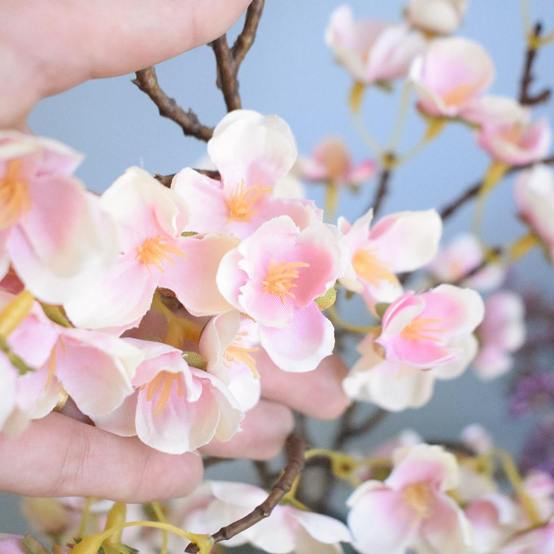 Haste de Flor de Cerejeira Rosa | Linha Permanente Formosinha