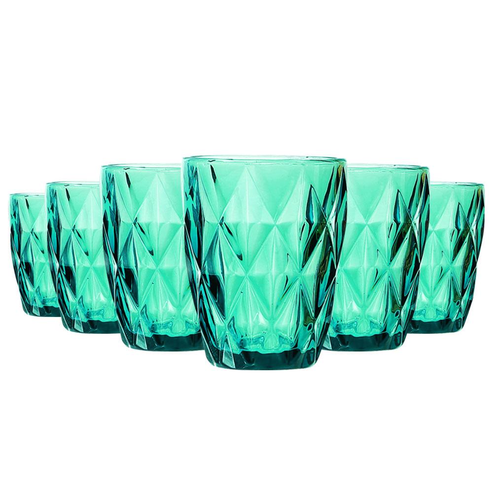 Jogo de Copos Diamante Tiffany