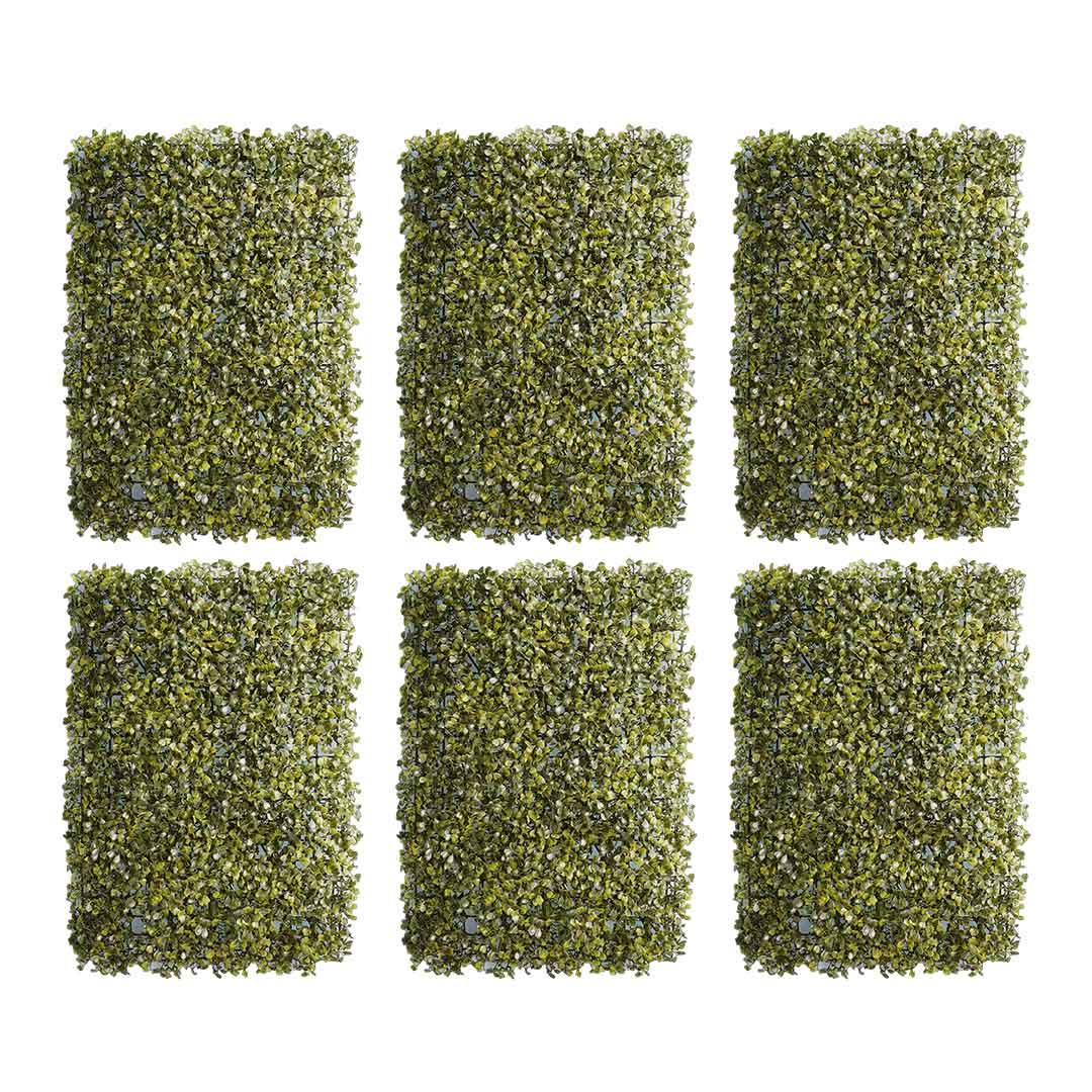 Kit Com 12 Placas de Grama Verde Artificial 60X40 Atacado | Formosinha