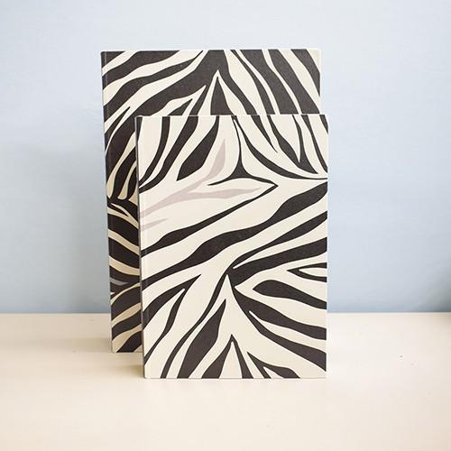 Kit de Caixas Livros Animal Print Wild