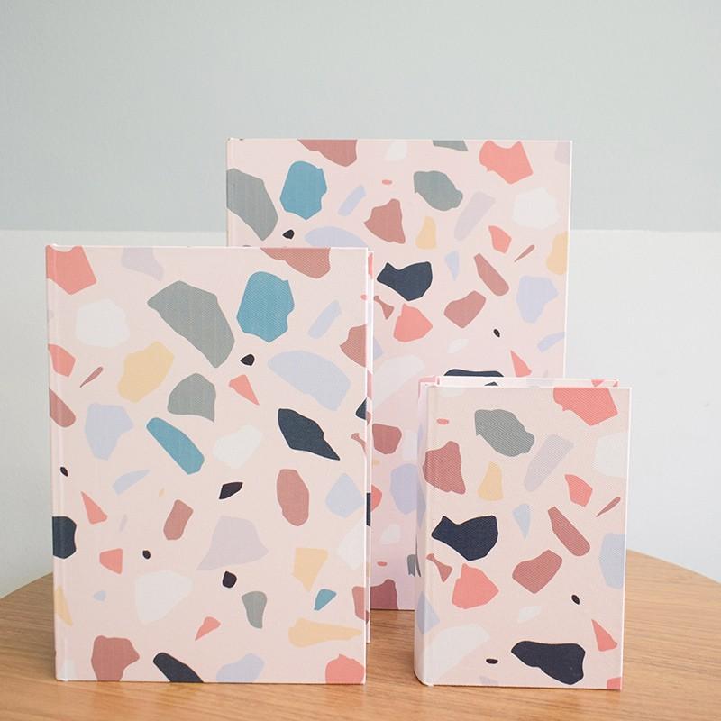 Kit de Caixas Livros Decorativas Granilite