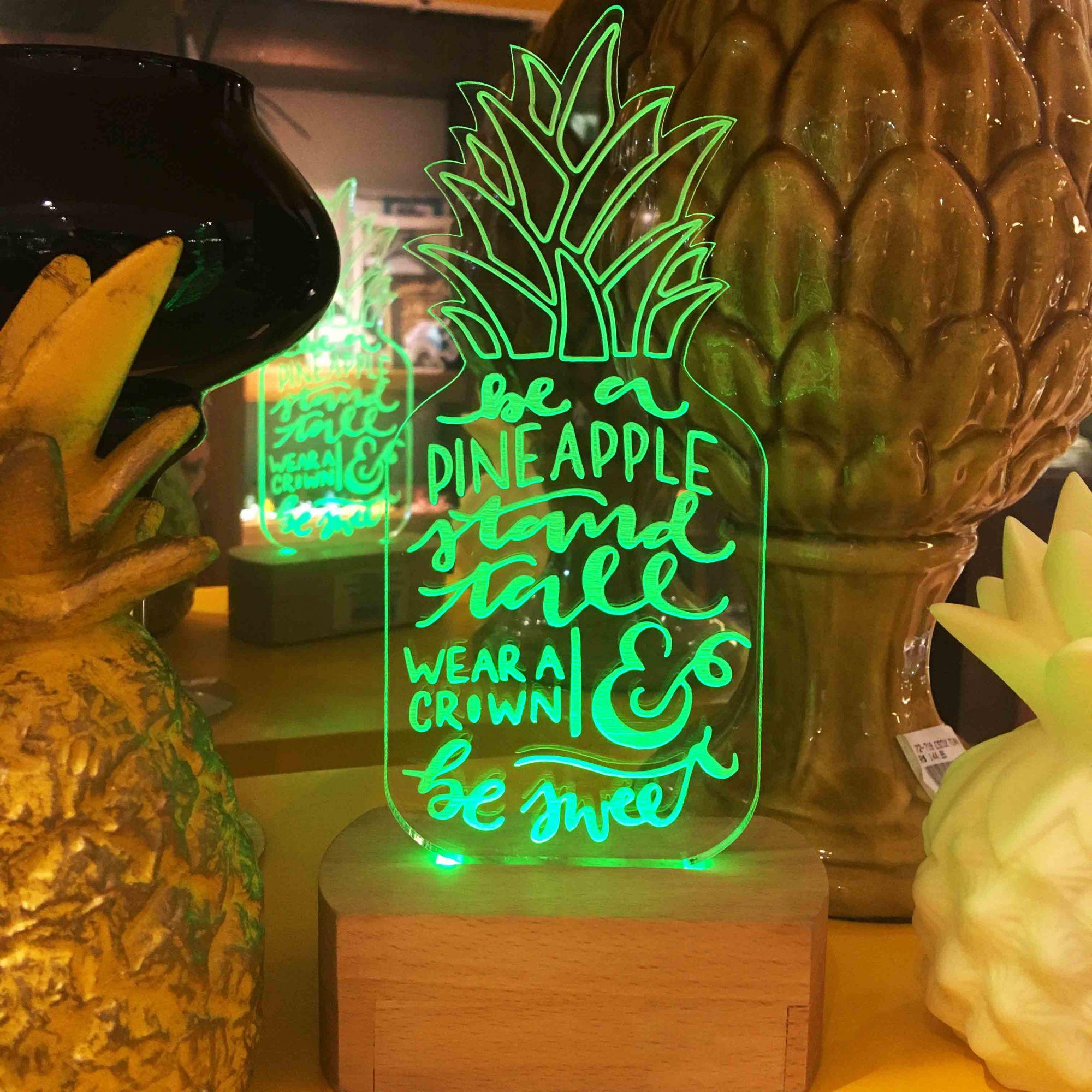 Luminária de LED Abacaxi