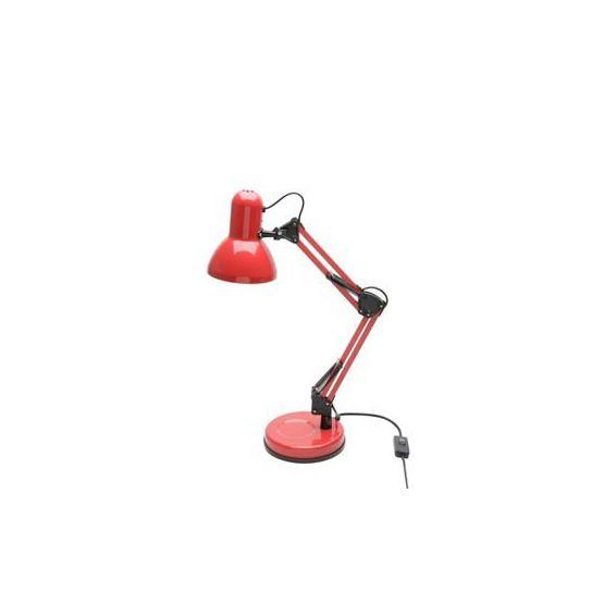 Luminária de Mesa Metal Pixel Vermelha 16x16x45cm