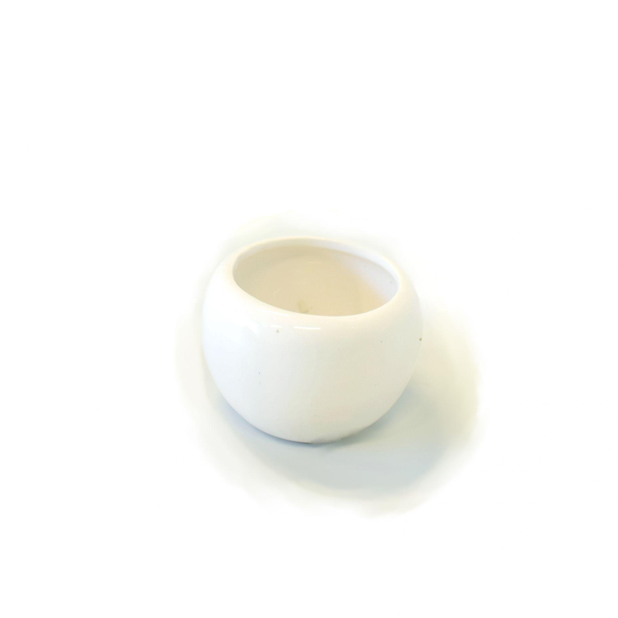 Mini Vaso de Flores de Cerâmica - 4,5cm