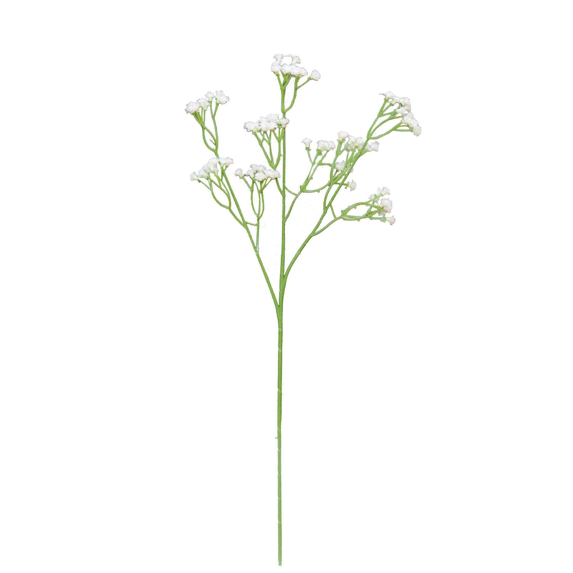 Flores Artificiais Mosquitinho Branco | Linha Permanente Formosinha