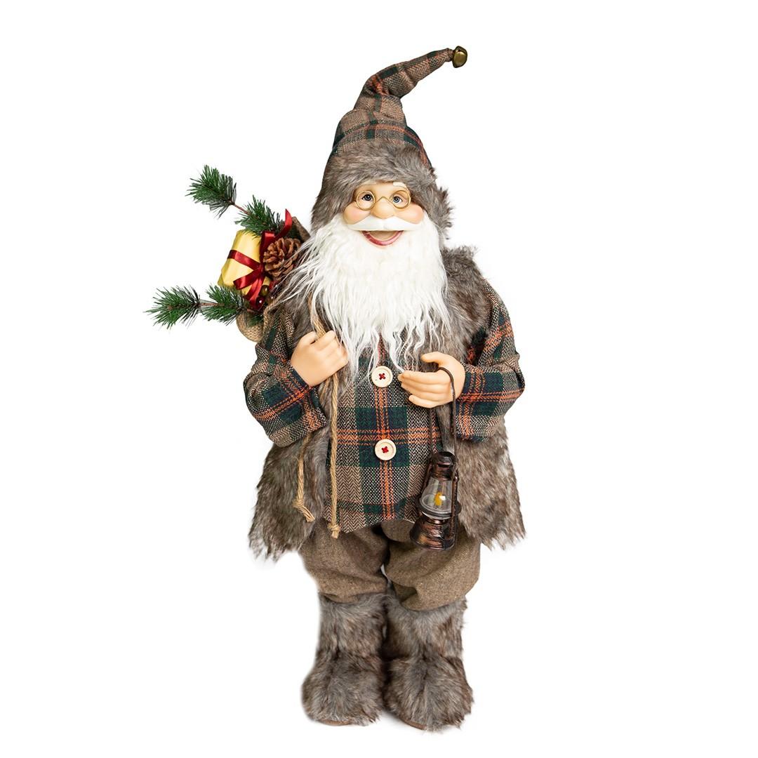 Papai Noel Montanhês Luxo com 60cm de Altura| Linha Natal Encantado Formosinha