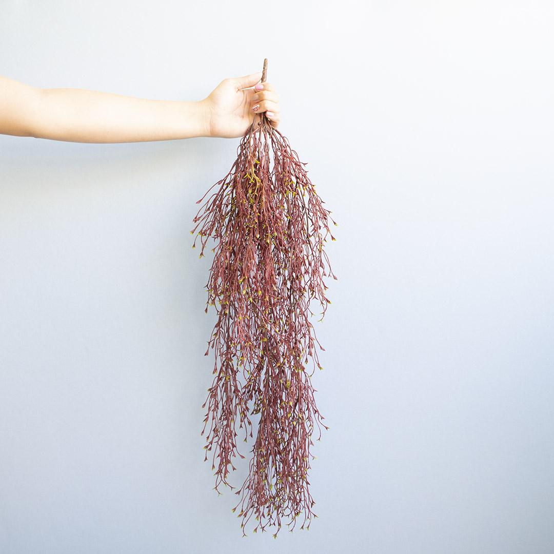 Pendente Folhas Outonadas Para Vasos de Parede |Linha Permanente Formosinha