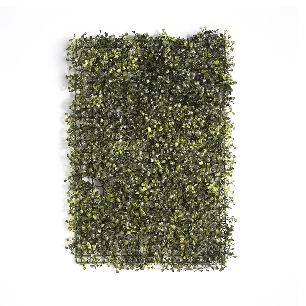 Placa de Grama Artificial 60X40 para Jardim Vertical | Formosinha