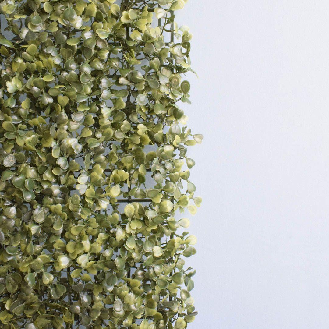 Placa de Grama Artificial para Muro Verde Permanente