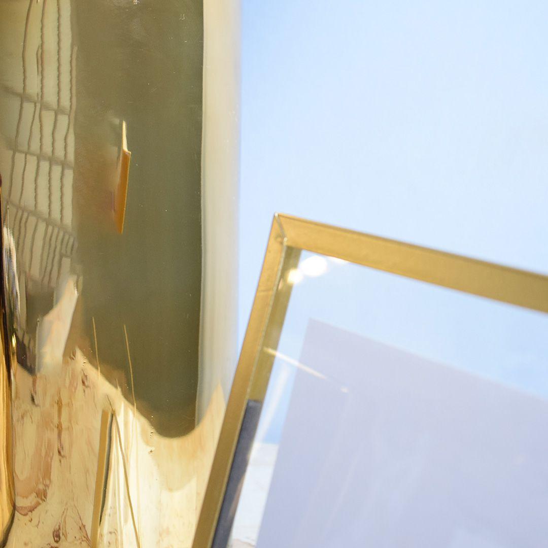 Porta Retrato Dourado 13x18cm
