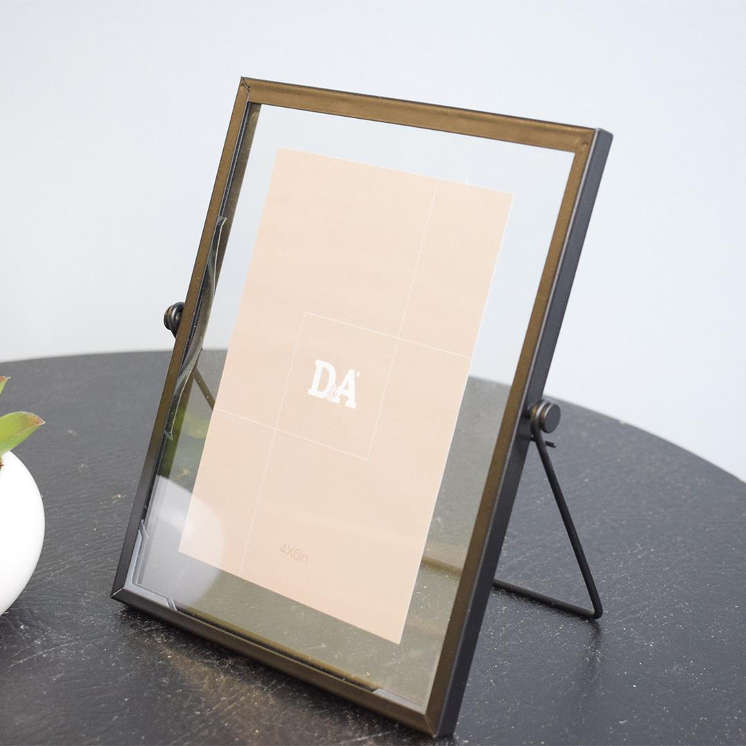 Porta Retrato Preto 10x15cm