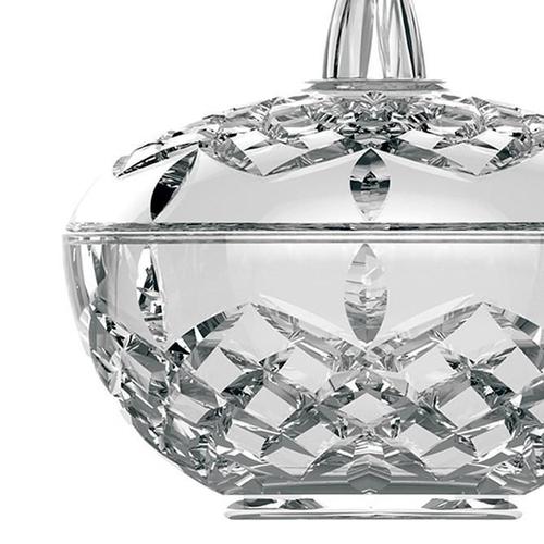Pote de Vidro Bomboniere Diamante Clear  Formosinha