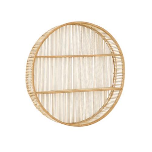 Prateleira Suspensa Boho de Bambu| Formosinha