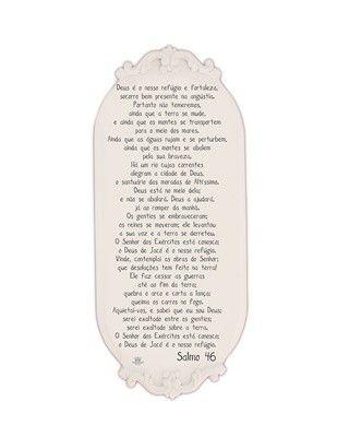 Quadro Provençal Salmo 46