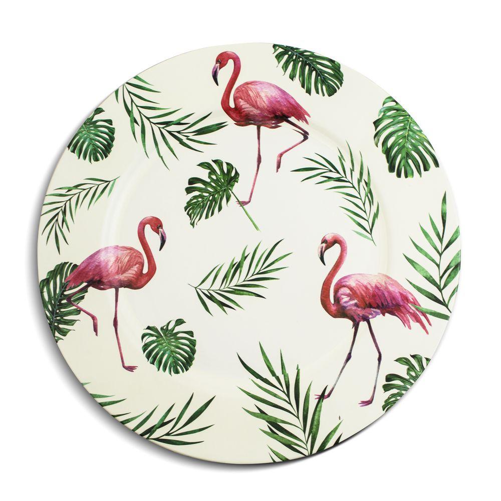 Sousplat Flamingo
