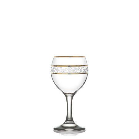 Taça de Vinho Misket Dourada