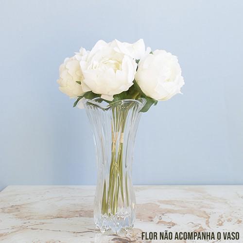 Vaso de Flores Decorativo Vidro Tulipa