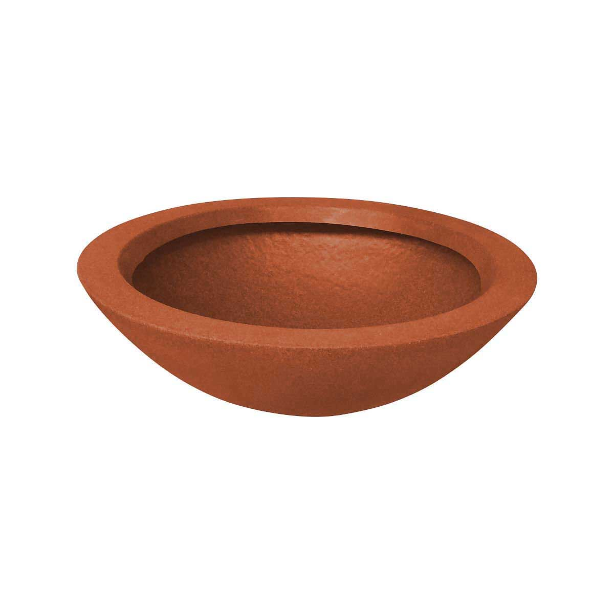 Vaso de Polietileno Bacia P Terracota