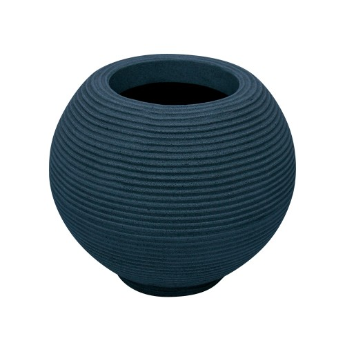 Vaso de Polietileno Bola Riscato Azul 36cm