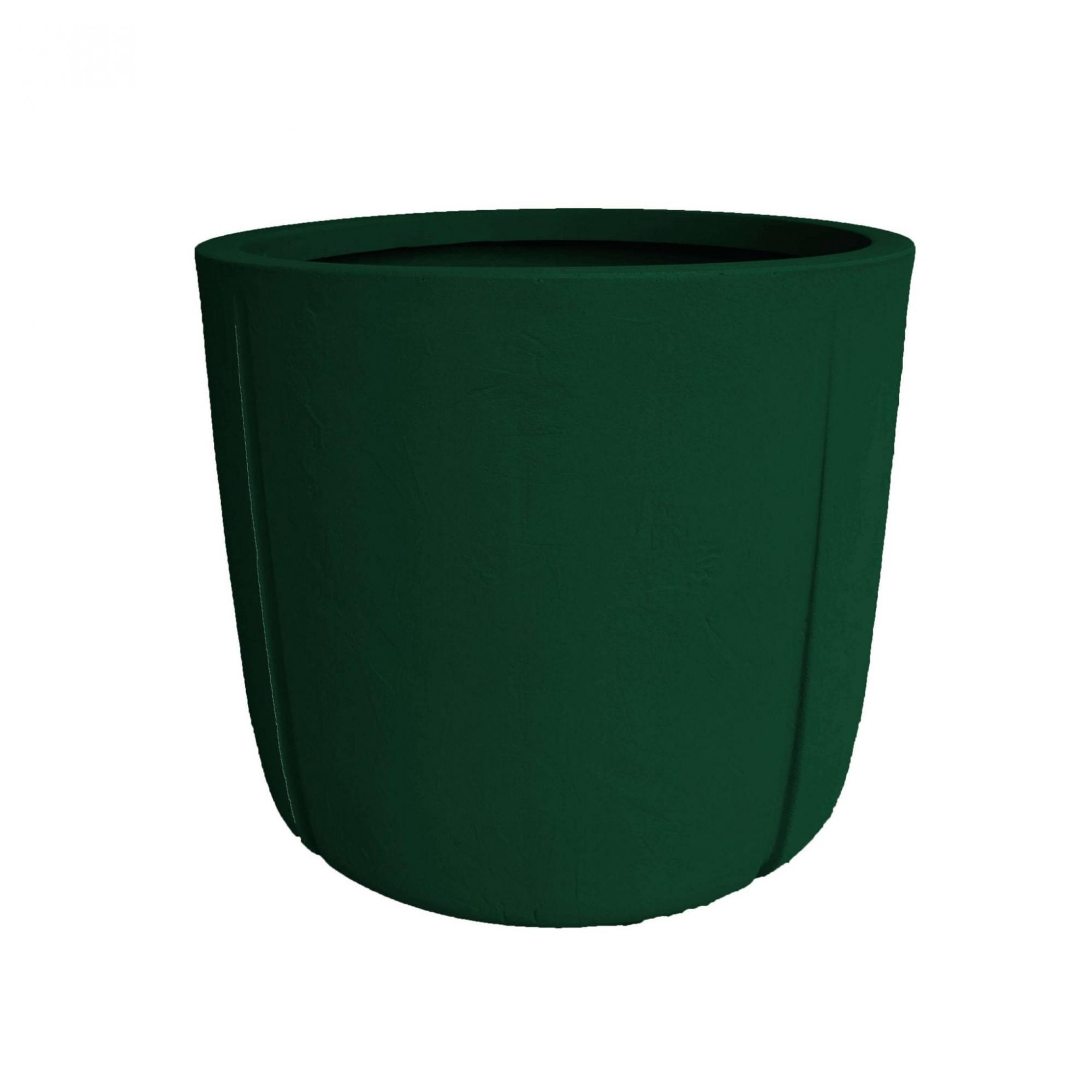 Vaso de Polietileno Karajá 50cm Verde | Studio André Lenza