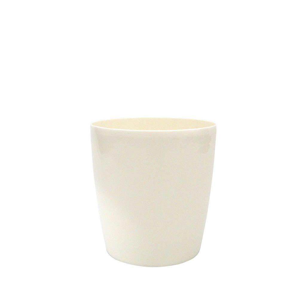 Vaso Orquídea Branco 15X16 cm