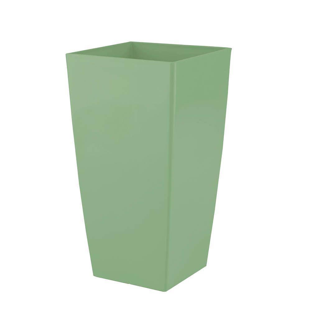 Vaso de Flores Piza Verde Vintage 14X26 cm