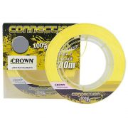 Linha Multifilamento Crown Connection 0,23mm 300m - Amarelo