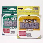 Linha Super Bass Soft Monofilamento 0,33mm 17Lbs - 250 Metros