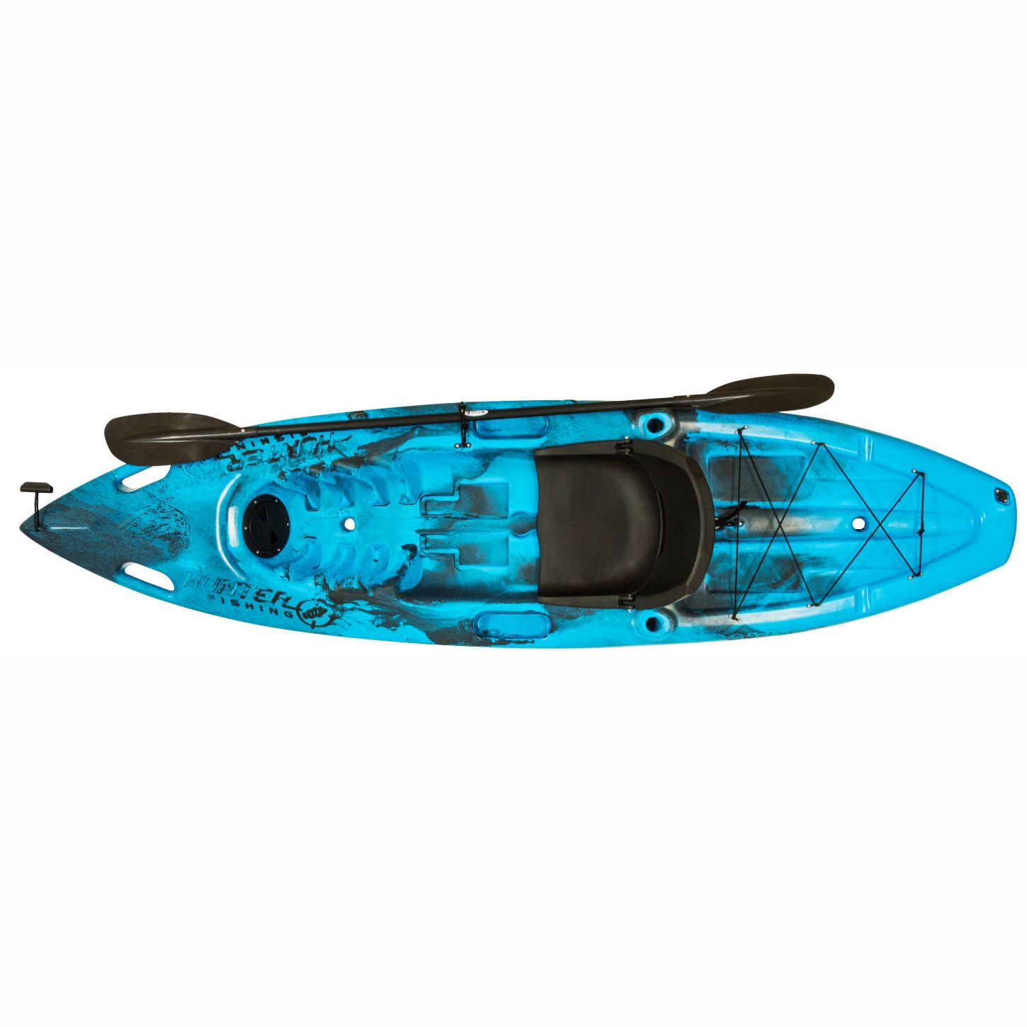 Caiaque Brudden Hunter Fishing Up - Azul com Preto