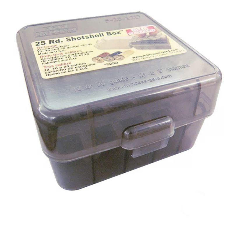 Caixa MTM para Armazenamento de Cartuchos - Cal. 12 Ao 32