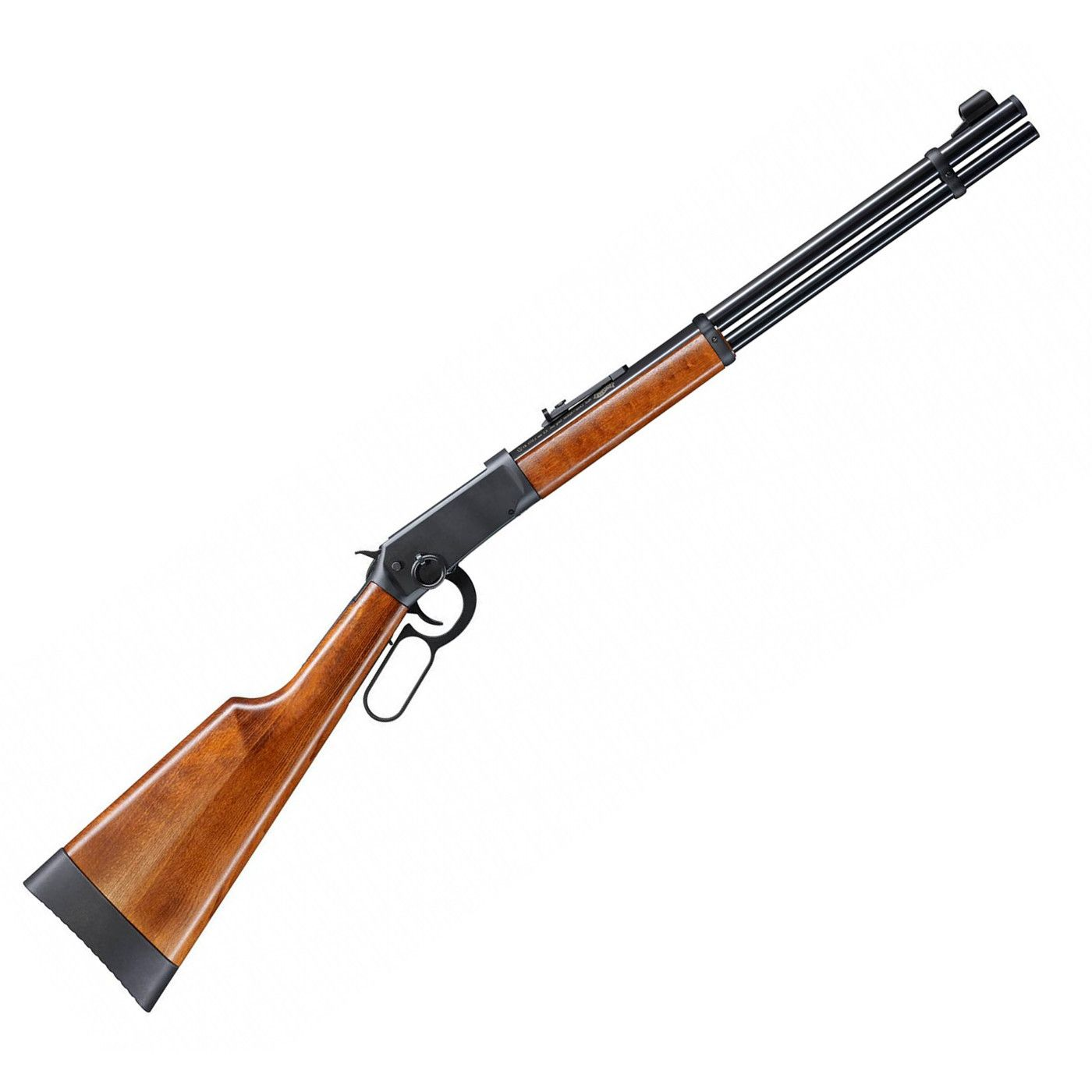 Carabina de CO2 Walther Lever Action Calibre 4,5mm Oxidada + Cilindro CO2 88g