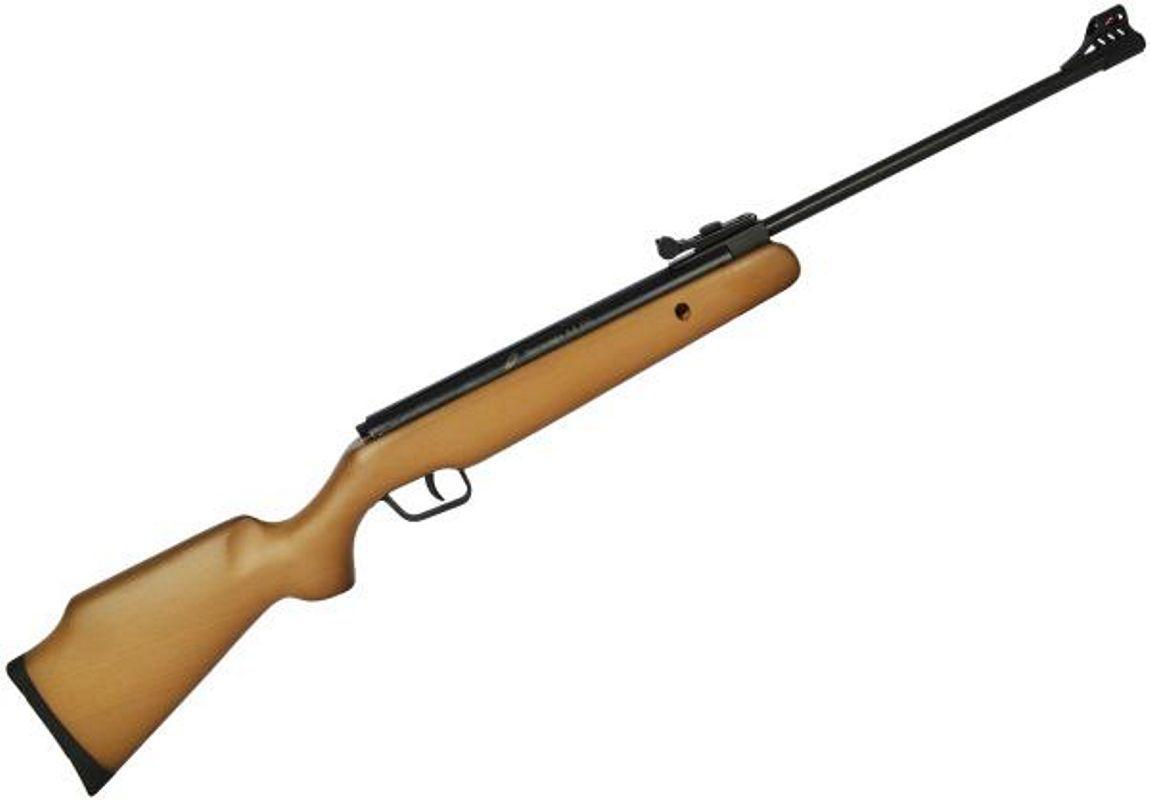 Carabina de Pressão CBC B12-6 F18 4,5mm Oxidada Coronha Madeira
