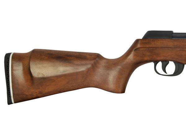 Carabina de Pressão CBC F22 Montenegro Special 5,5mm Oxidada Coronha Madeira c/ Bandoleira