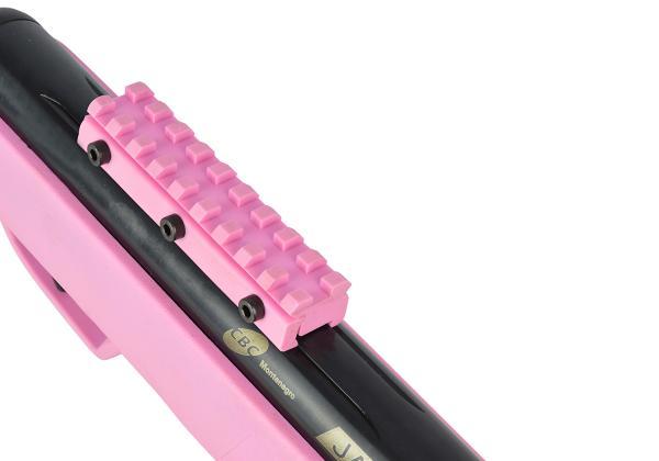 Carabina de Pressão CBC Jade Mais 4,5mm - Oxidada - Coronha Rosa
