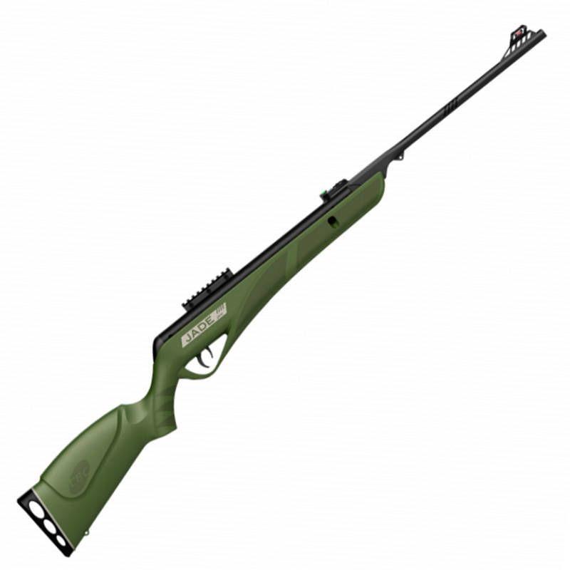 Carabina de Pressão CBC Jade PRO 4,5mm Oxidada Verde