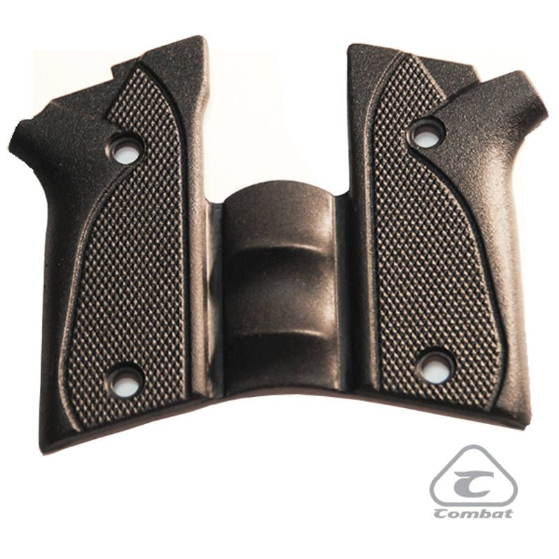 Empunhadura de Borracha Para Pistola Pt938/940/957/915 Com Desarmador - Combat