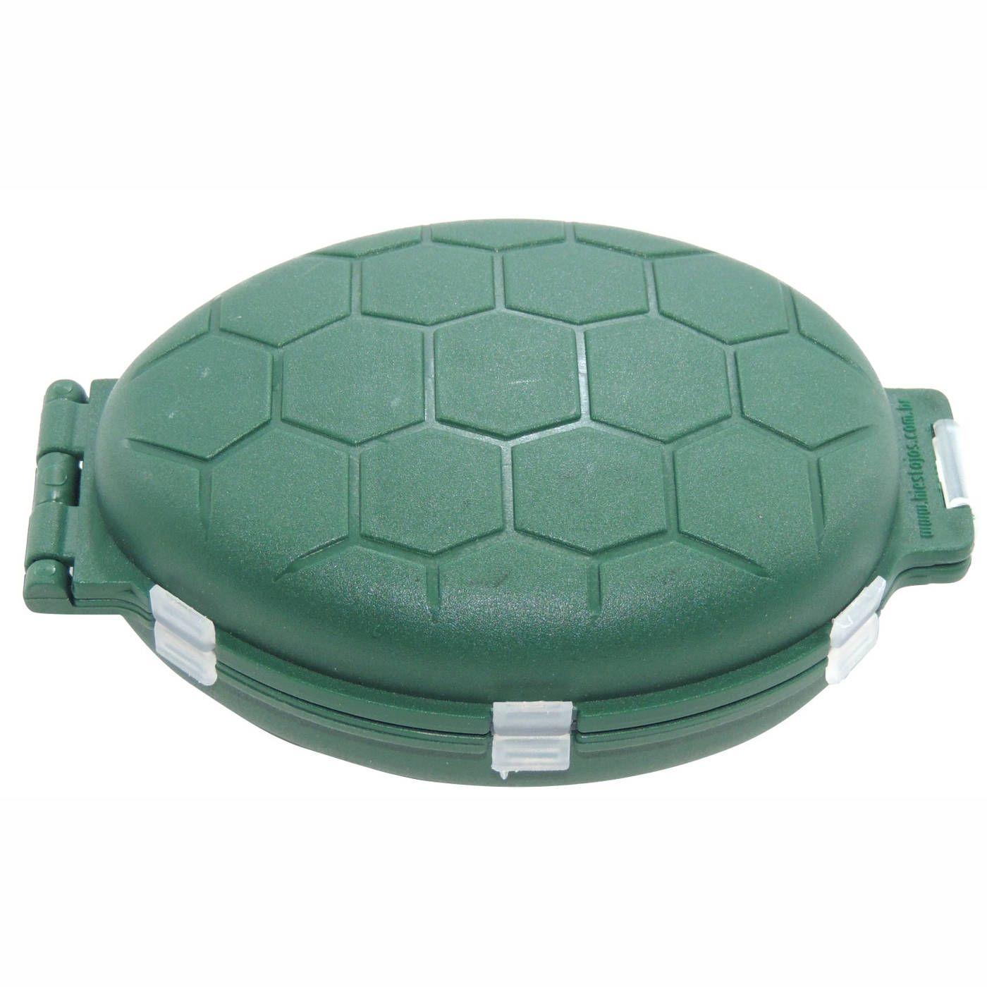 Estojo HI Articulado Tipo Tartaruga - 12 Divisões