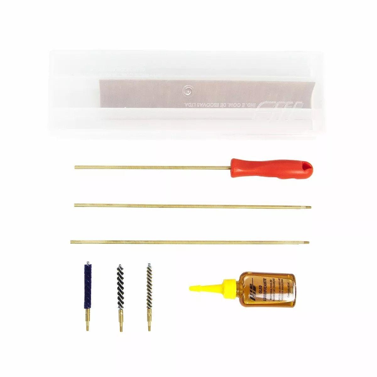 Kit Limpeza Lh Carabina/Pistola De Pressão 5,5mm