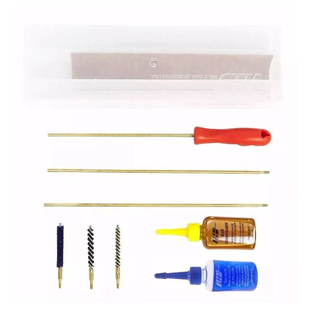 Kit Limpeza LH Standard Caixa Arma Longa - Calibre 22