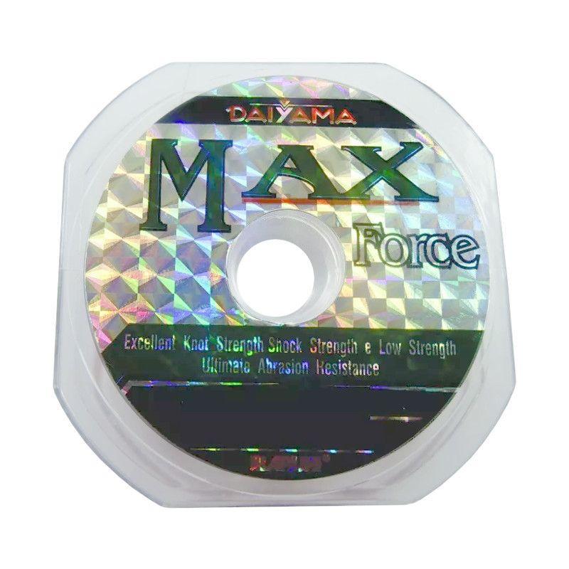 Linha De Pesca Max Force - 0,37mm Mono - 100m