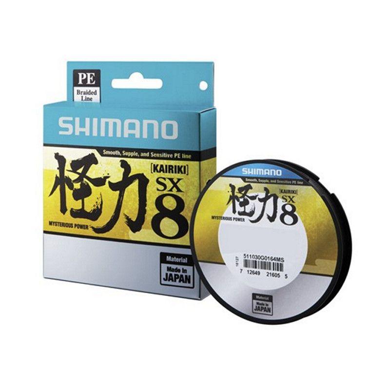 Linha Multifilamento Shimano SX8 Kairiki - 0,28mm 40lbs - 150m