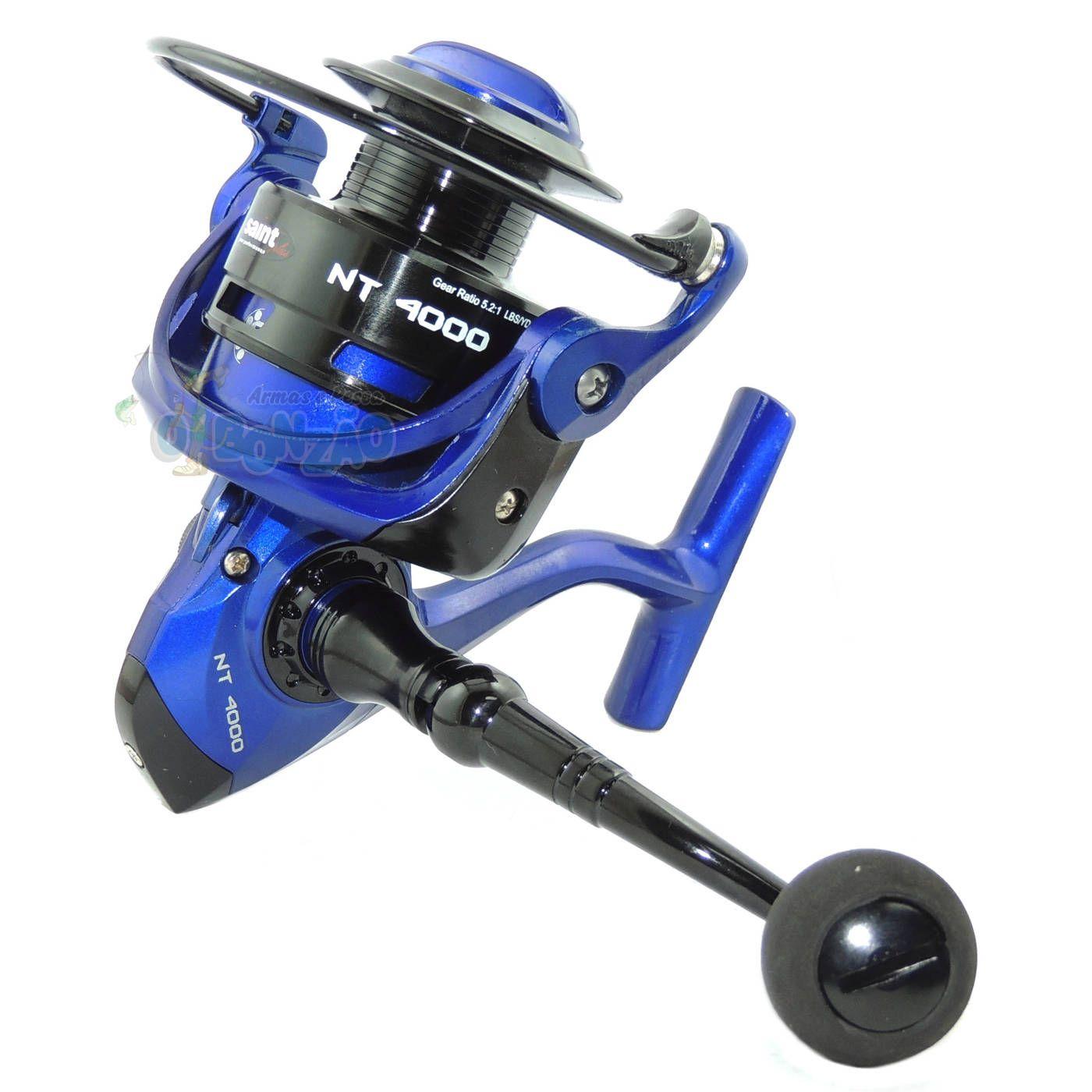 Molinete Saint Plus Netuno 4000 Azul FD