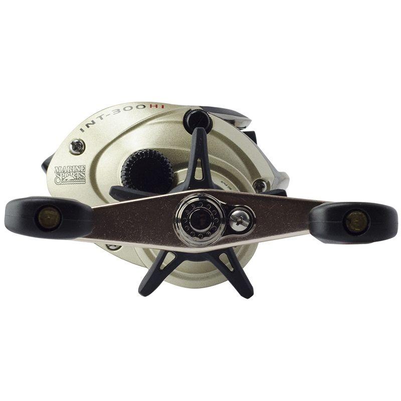 Nova Carretilha Marine Sports Intruder 300 HI Direita - 3 Rolamentos