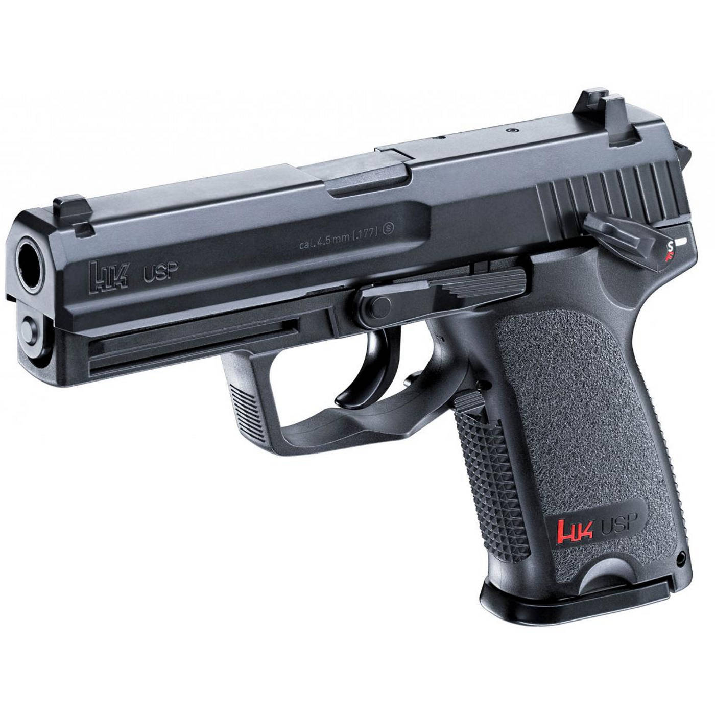 Pistola de CO2 Heckler & Kock ( HK ) USP Calibre 4,5 mm - Semi Auto
