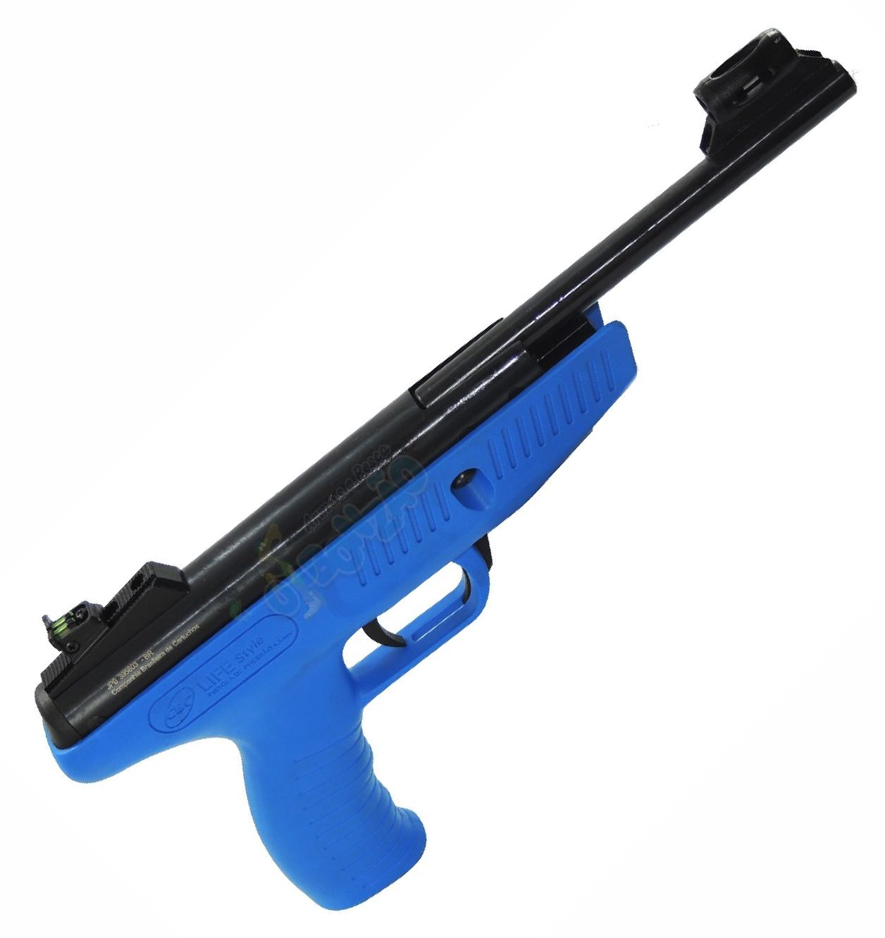 Pistola de Pressão CBC Life Style 4,5mm Azul