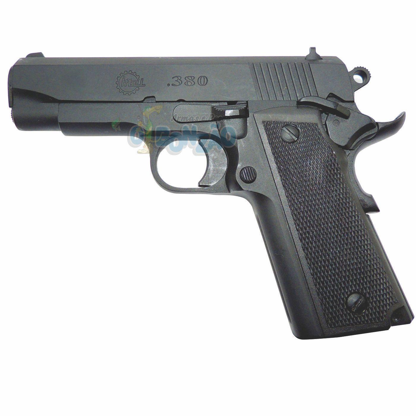 Pistola Imbel MD1N Cal .380 ACP 9+1 Tiros Oxidada