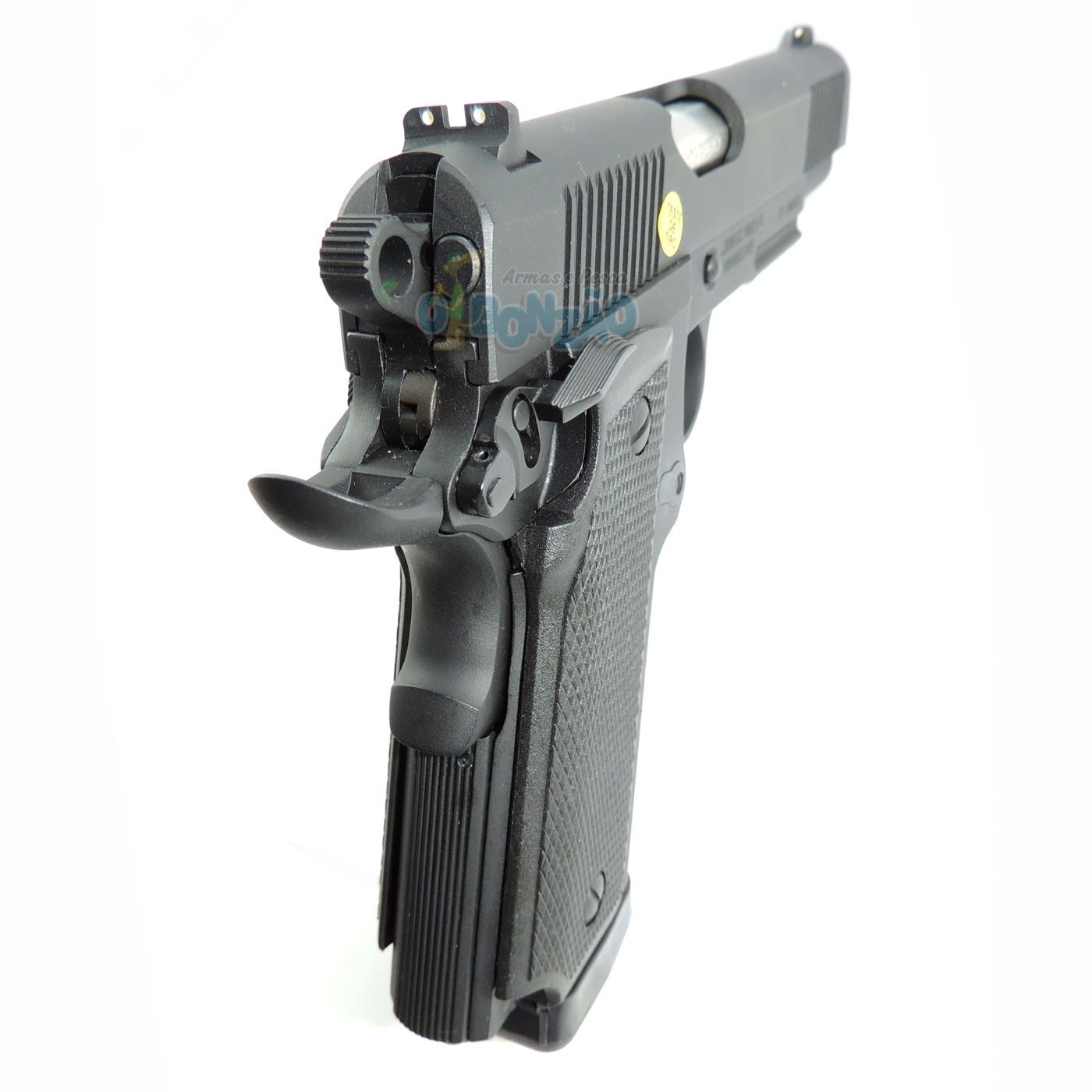 Pistola Imbel MD2 LX GC ADC Cal .380 ACP 19+1 Tiros Oxidada