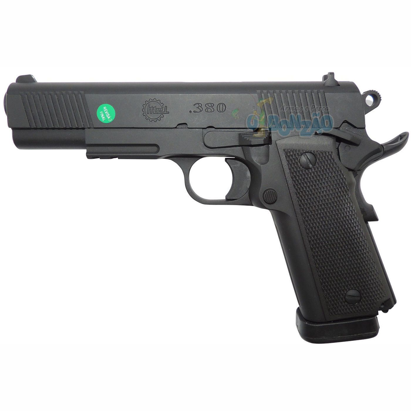 Pistola Imbel MD2 LX GC Cal .380 ACP 19+1 Tiros Oxidada