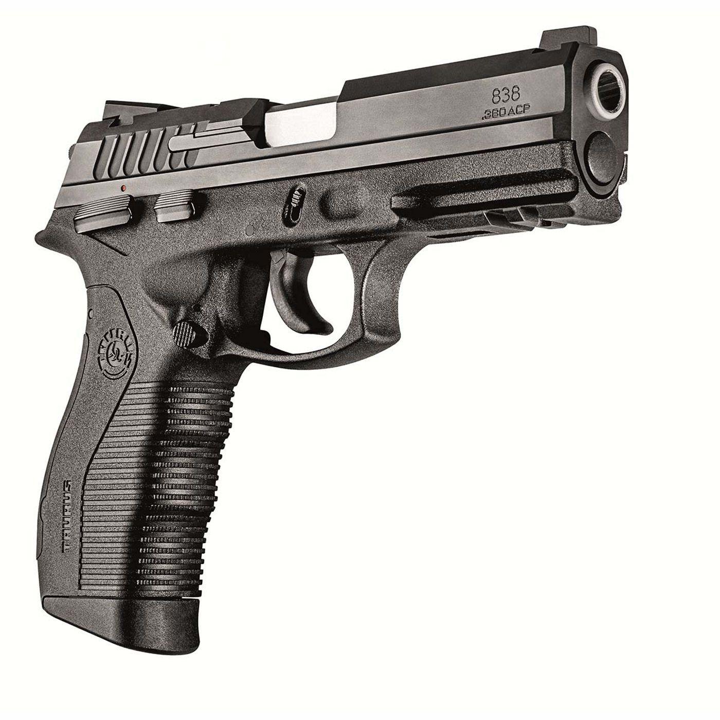 Pistola Taurus 838 - Cal. 380 ACP 18+1 Tiros Oxidada