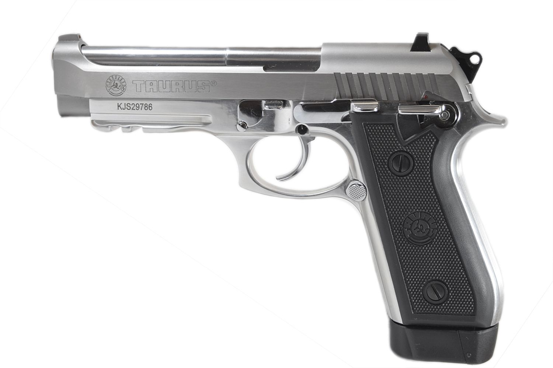 Pistola Taurus PT 59S - Cal. 380 Auto 19+1 Tiros Inox Fosco